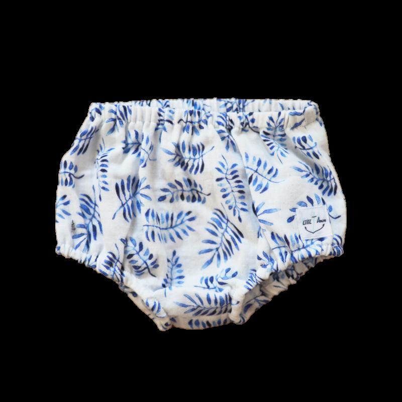 Bloomer Loo coton bio safari bleu