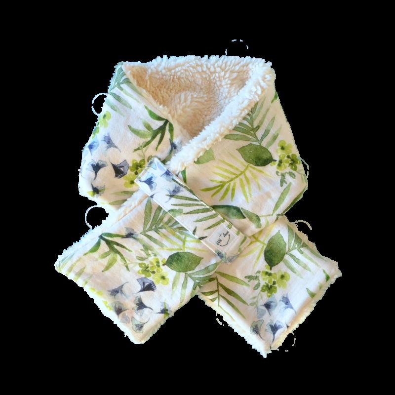 tour cou chinook floral coton bio
