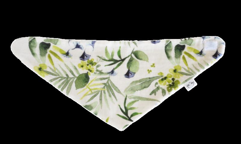 bavoir-bora-floral coton bio