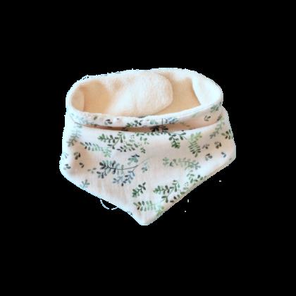 bavoir bandana bora coton bio provence
